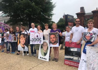 Smithsonian Sackler Rally, October 7th, 2018